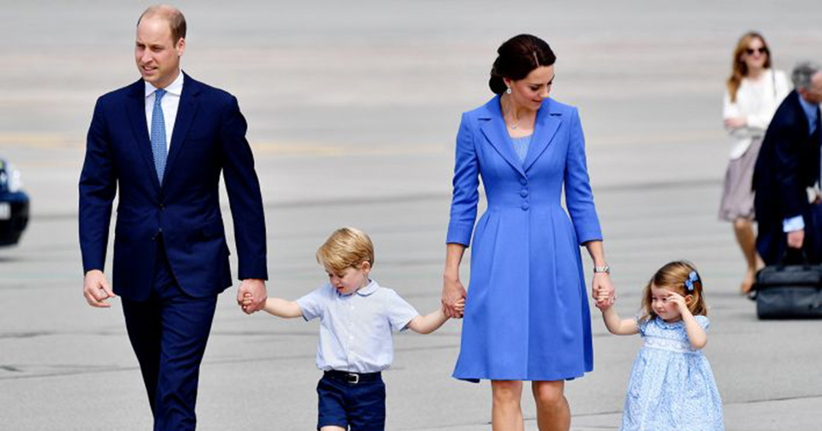 Prince William, Kate Middleton and their children